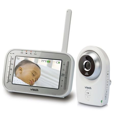 vtech vm341 safe sound full colour video and audio baby monitor. Black Bedroom Furniture Sets. Home Design Ideas