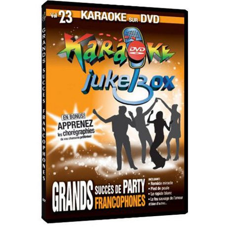 Karaoke Jukebox, Vol 23 : Grand succès de party francophones