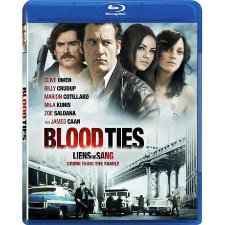 Blood Ties (Blu-ray + DVD) (Bilingual) | Walmart.ca