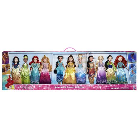 11 Disney Princess Dolls Collection $98.88 @ Walmart.ca