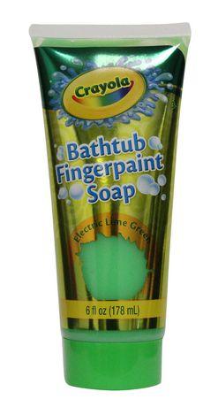 Crayola Bathtub Fingerpaint Soap Assorted Colours