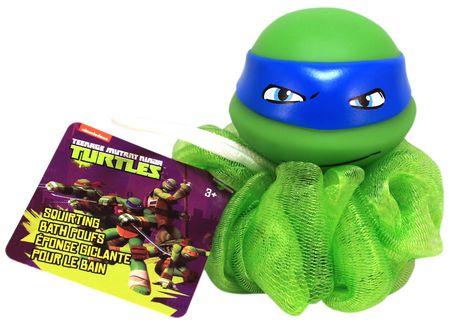 Nickelodeon Teenage Mutant Ninja Turtles Squirting Bath Poufs   Assorted Characters   Walmart ca. Nickelodeon Teenage Mutant Ninja Turtles Squirting Bath Poufs