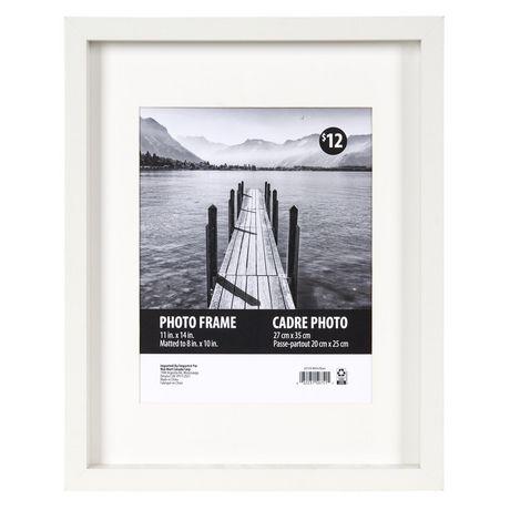 cadre macintyre 28 x 36 cm x 25 4 cm blanc