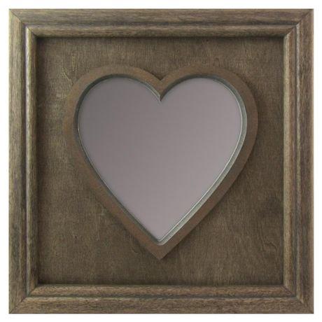 Miroir en forme de c ur stea de hometrends walmart canada for Miroir walmart
