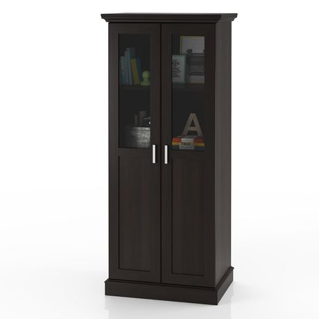 Home Trends Glass Door Wardrobe Multi Purpose Storage