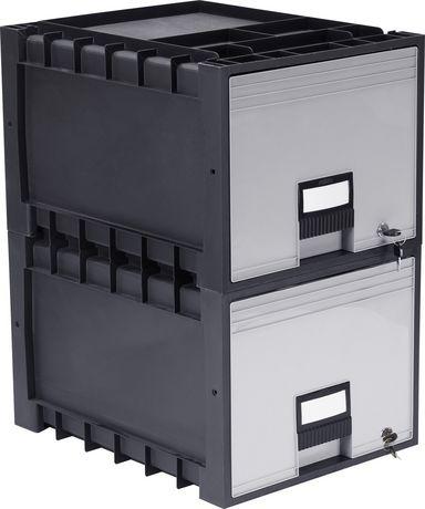 tiroir classeur d 39 archives 18 po verrou noir. Black Bedroom Furniture Sets. Home Design Ideas