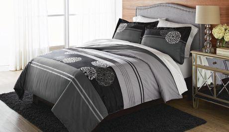 housse de couette pour lit 2 places grand lit de springmaid m dallion. Black Bedroom Furniture Sets. Home Design Ideas