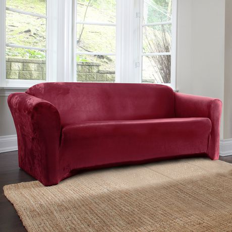 Surefit harlow stretch sofa slipcover for Housse sofa walmart
