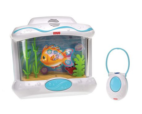 Fisher price ocean wonders aquarium with remote control for Toy fish tank