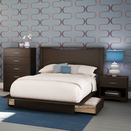 South Shore Soho Collection 4 Piece Bedroom Set