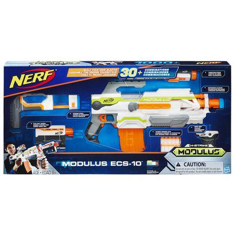 Nerf N-Strike - Modulus Ecs-10 Blaster Na Aa