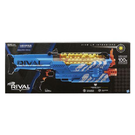 UPC 630509526253 product image for Nerf Rival Nemesis Mxvii-10K Blue | upcitemdb.com
