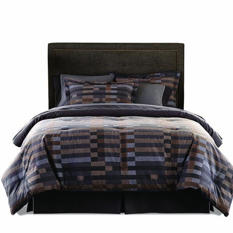 springmaid garrison queen bed in a bag bedding set. Black Bedroom Furniture Sets. Home Design Ideas