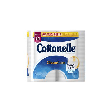 Cottonelle Clean Care Double Roll Toilet Paper | Walmart.ca