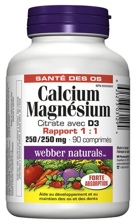 Where does calcium citrate come from