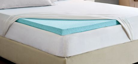 surmatelas mousse m moire walmart table de lit. Black Bedroom Furniture Sets. Home Design Ideas