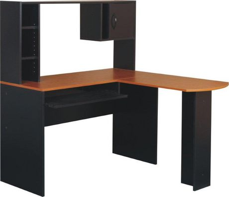 mainstays l shaped computer desk