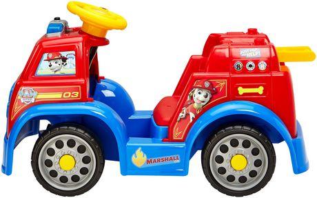 Walmart Spark Shop >> Power Wheels PAW Patrol Fire Truck Ride-on   Walmart.ca
