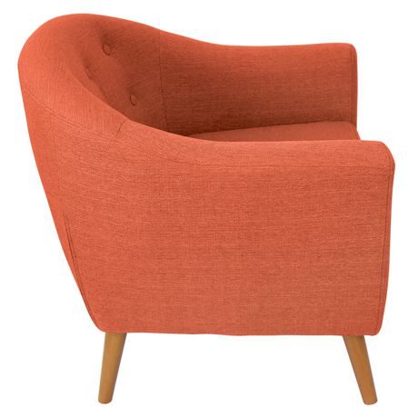 Chaise Rockwell De Lumisource Orange Walmart Canada