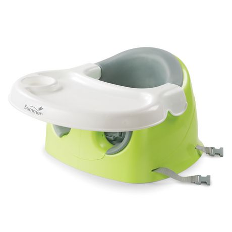 Summer Infant Supportme 3-In-1 Positioner, Feeding Seat, & Booster Green
