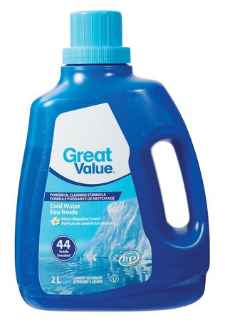 Great Value Cold Water Laundry Detergent Walmart Ca