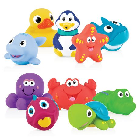 Nuby Little Squirts Bath Squirters