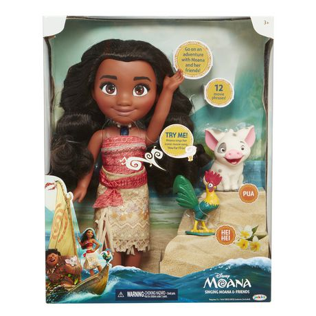 Disney Moana Singing Moana Amp Friends Figure Walmart Ca