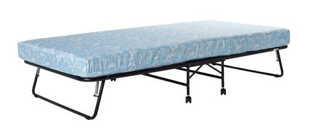 lit d 39 appoint pliant roulette avec matelas de dhp walmart canada. Black Bedroom Furniture Sets. Home Design Ideas