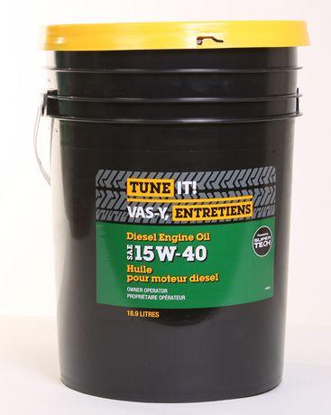 15w 40 Diesel Engine Oil 18 9l