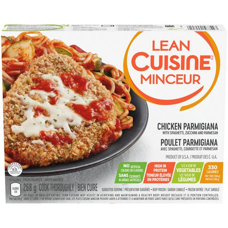 lean cuisine selection chicken parmigiana