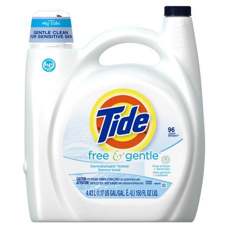 Tide Free & Gentle High Efficiency Liquid Laundry Detergent