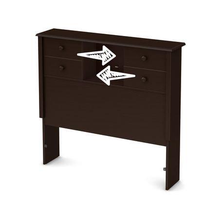 t te de lit biblioth que simple avec portes coulissantes little smileys de south shore walmart. Black Bedroom Furniture Sets. Home Design Ideas