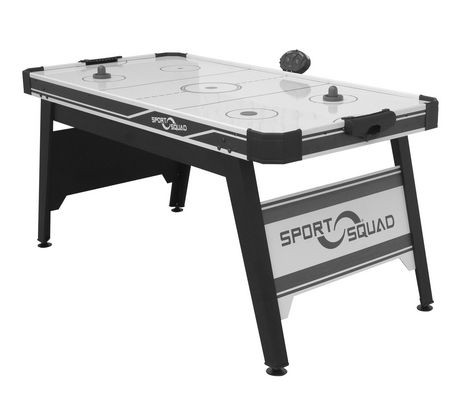 table de hockey sur coussin d air hx66 de sport squad de 66 po walmart canada
