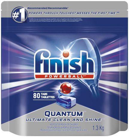 Finish Powerball Quantum Max Fresh Scent Dishwasher Detergent