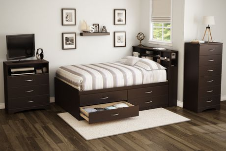 lit capitaine collection soho de meubles south shore. Black Bedroom Furniture Sets. Home Design Ideas