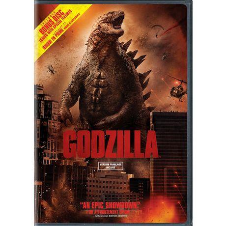 Godzilla 2014 2 Disc Special Edition Bilingual