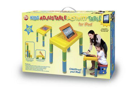 CTA Digital Adjustable Kids Activity Table for iPad ... Ipads For Kids At Walmart
