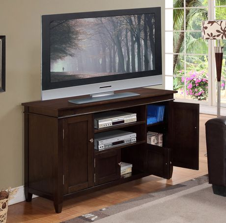 Wyndenhall Richland Tobacco Brown Finish High Tv Stand