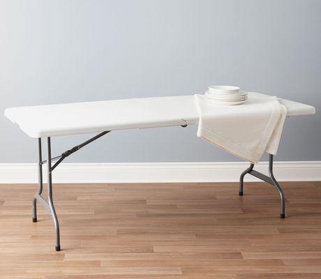 Upc 044413307257 table 6 foot rectangular folding for Table pliante walmart