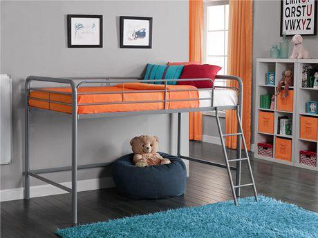 Dorel Junior Loft Grey Bunk Bed Walmart Ca