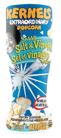 Kernels Sassy Salt & Vinegar Popcorn Seasoning