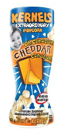 Kernels Oh Canadian Cheddar Popcorn Seasoning