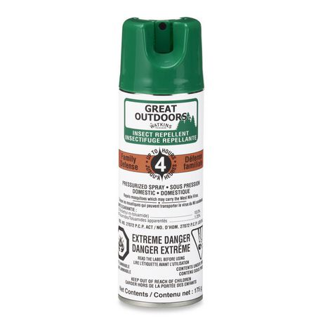 Great Outdoors Insect Repellent Spray 175 g   Walmart.ca