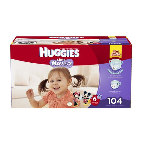 HUGGIES Size One Snug & Dry Diapers give your baby great protection at a great value. Four layers of protection absorb moisture quickly to help stop leaks for up to 12 hours, and a quilted liner helps to keep your baby dry and comfortable.