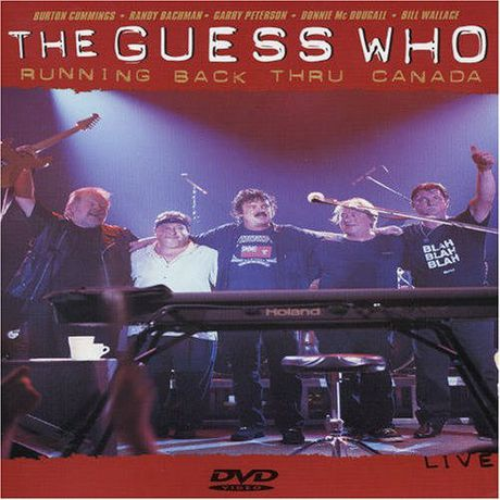 The Guess Who Running Back Thru Canada Music Dvd
