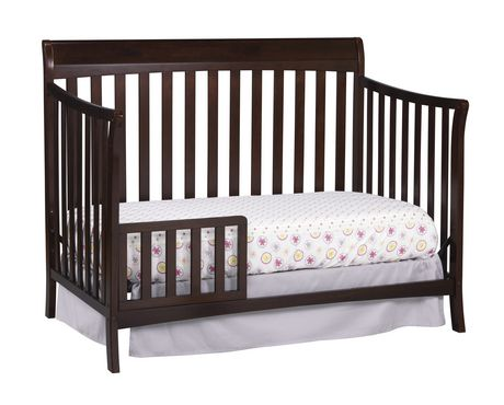 Stork craft avalon 4 in 1 convertible crib for Child craft convertible crib instructions