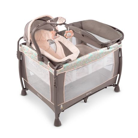 ingenuity washable playard with dream centre instructions