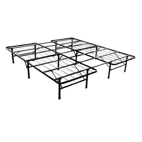 smartbase queen king size steel bed frame. Black Bedroom Furniture Sets. Home Design Ideas