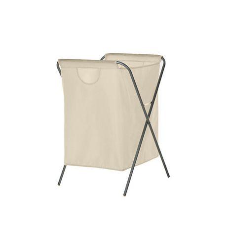 neatfreak nylon folding hamper. Black Bedroom Furniture Sets. Home Design Ideas