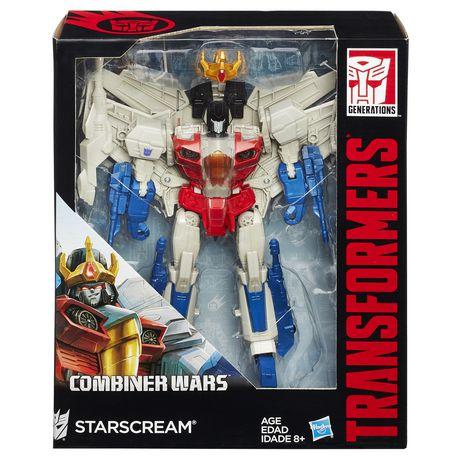 [Wallmart]Transformers Generations Leader Class Starscream Figure $20 Online